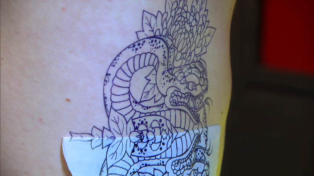 Elimination Tattoo Japanese Snakes Part Ii