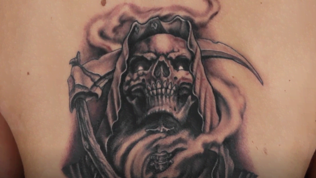 Elimination Tattoo Grim Reapers Part Iii