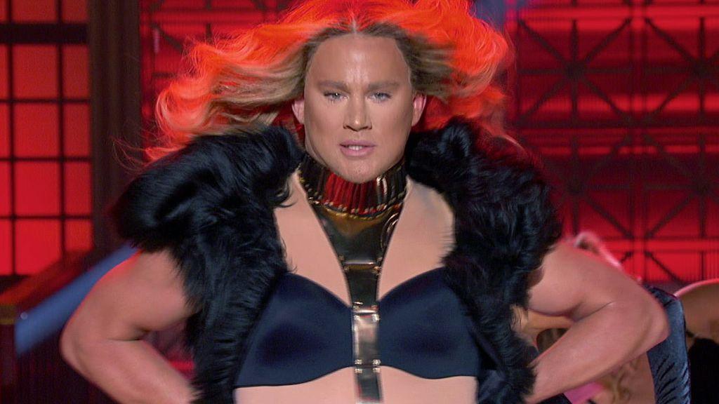 Channing Tatum Performs Beyonce's 'Run The World'