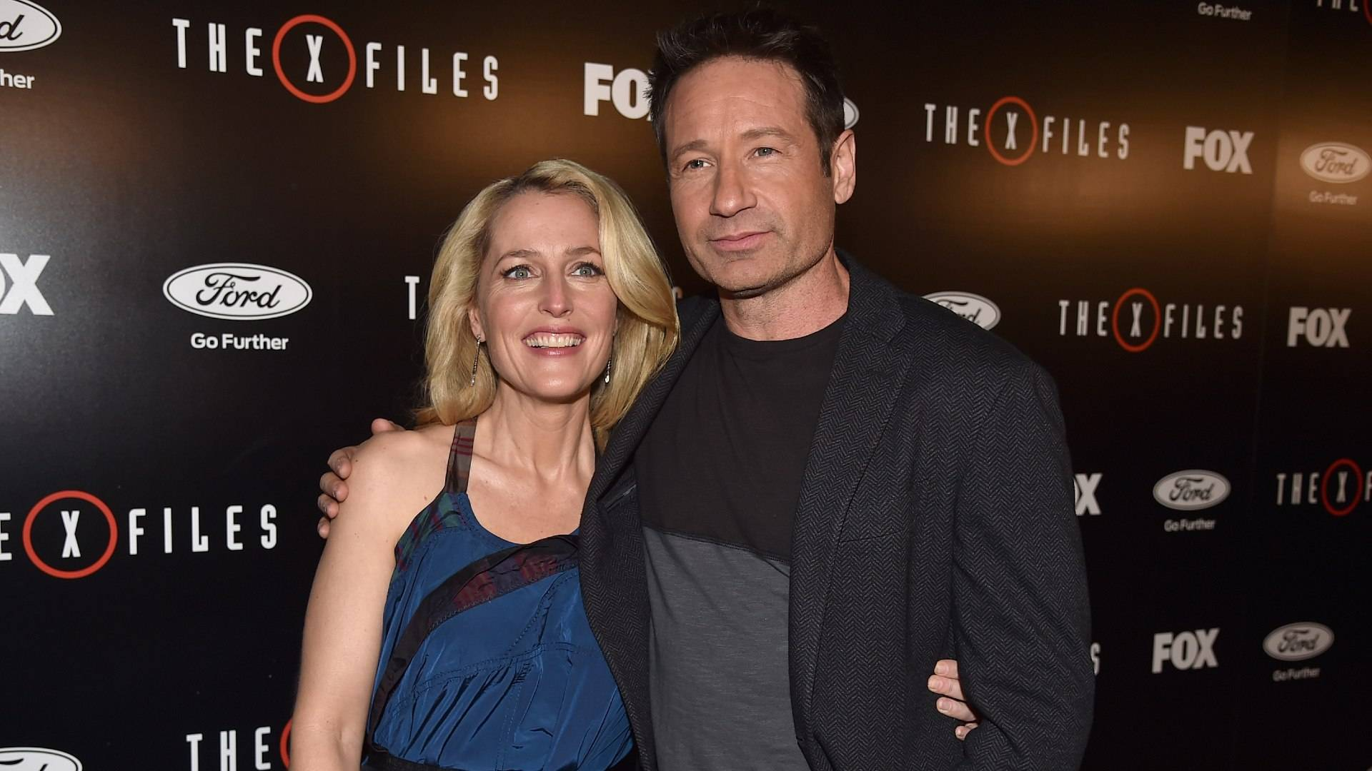 Mulder e Scully (X-Files), foto: Getty Images