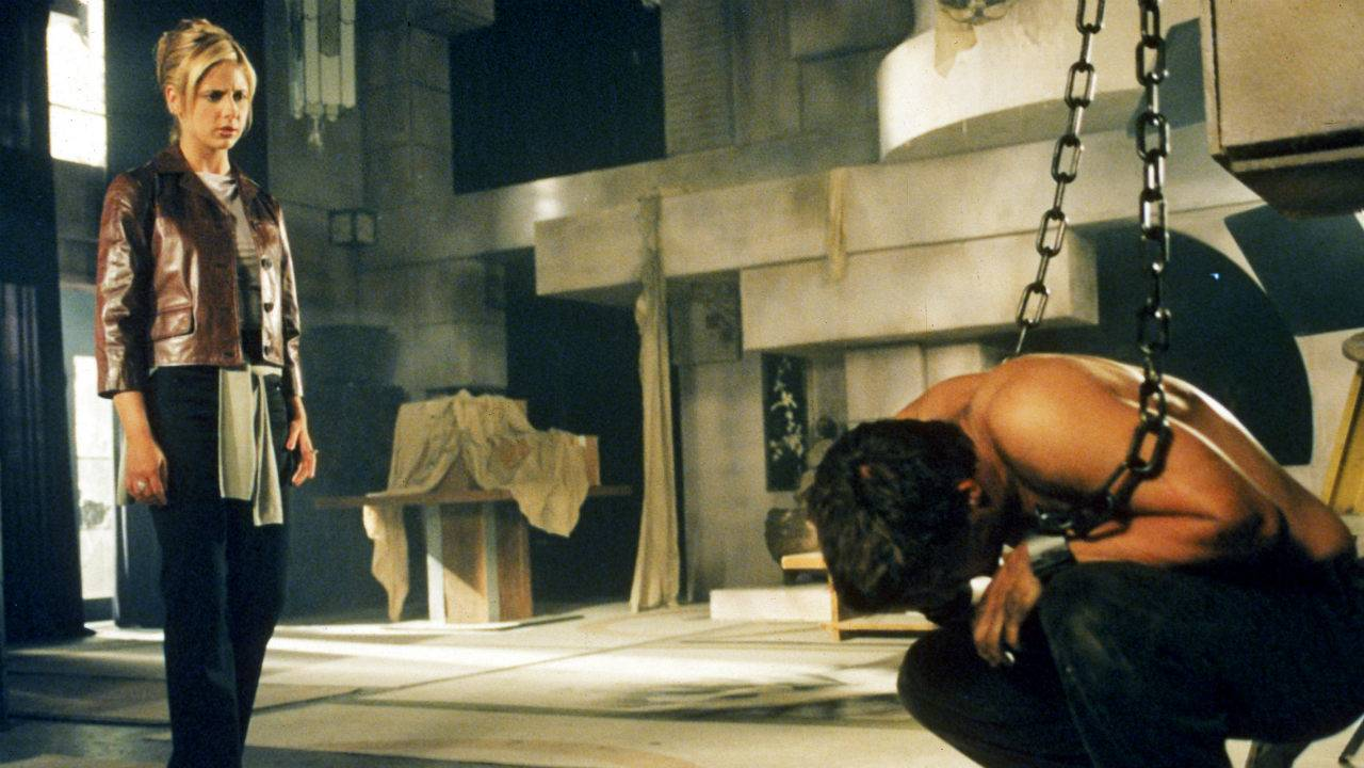 Una scena di Buffy l'ammazzavampiri