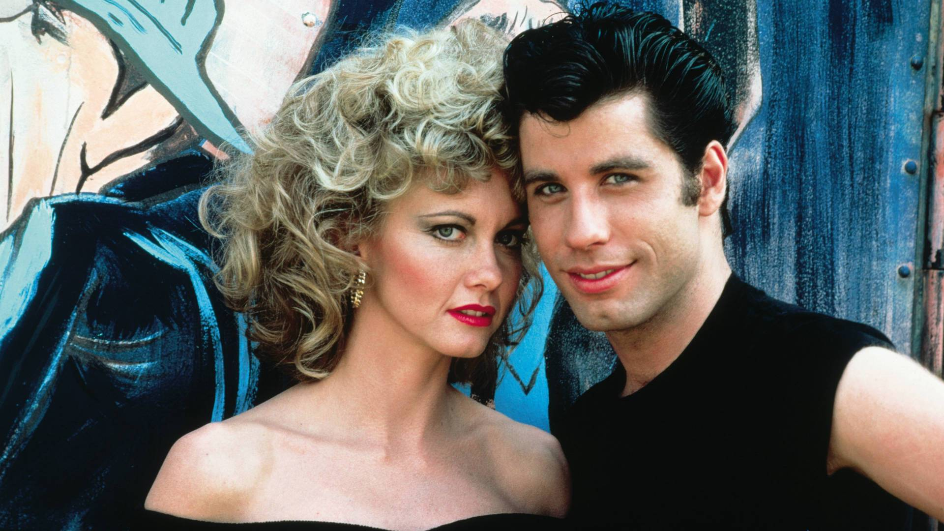Olivia Newton-John e John Travolta (Grease - Brillantina), foto: Paramount Pictures