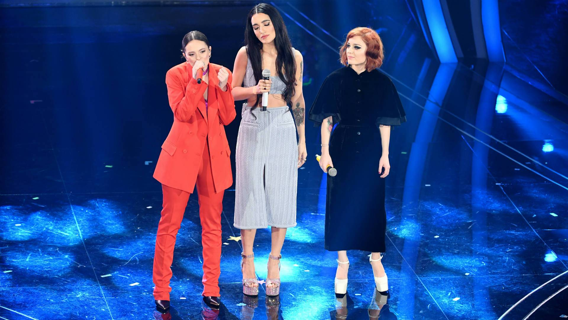 Francesca Michielin, Levante e Maria Antonietta, foto: Getty Images