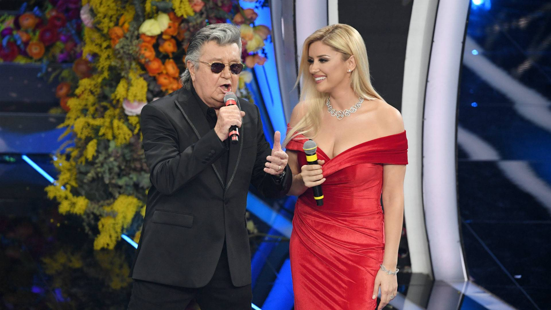 Bobby Solo e Alketa Vejsiu, foto: Getty Images