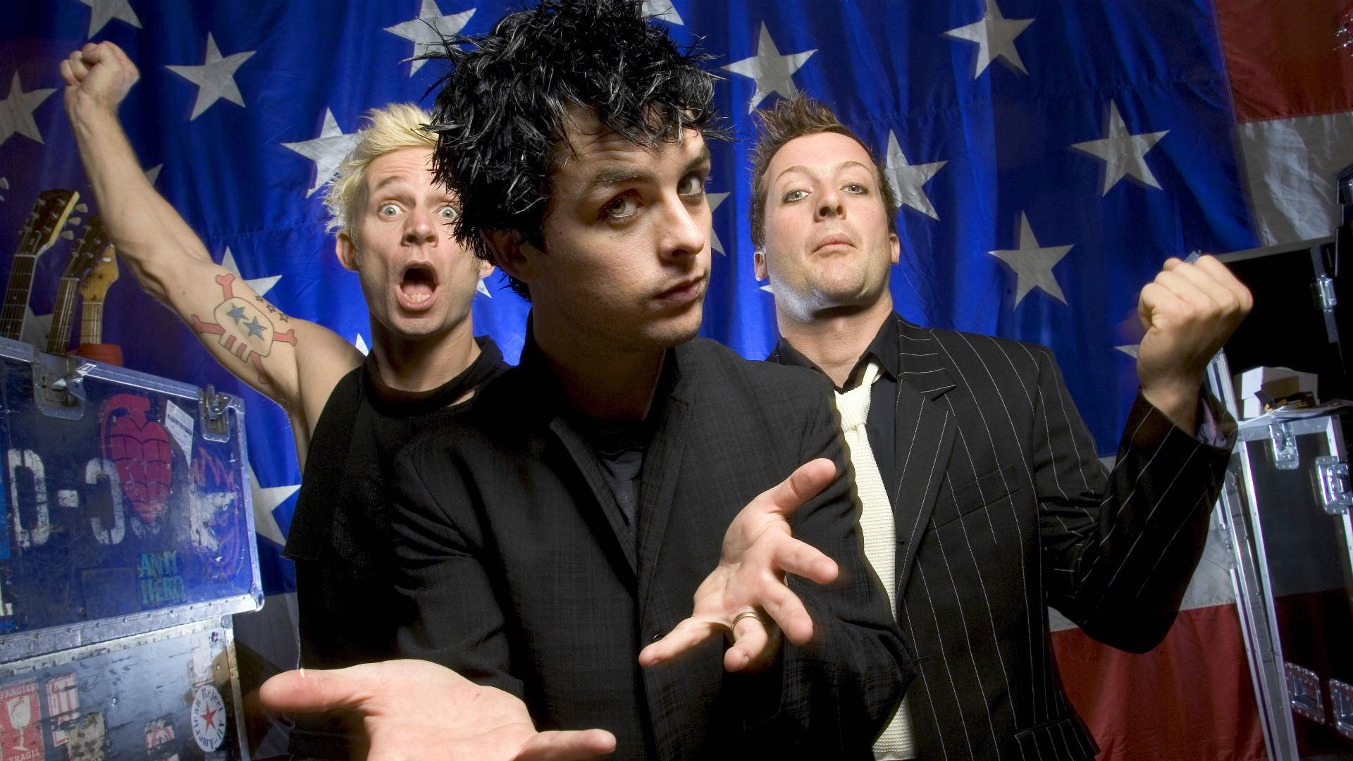 Billie Joe Armsrong dei Green Day, foto: Getty Images