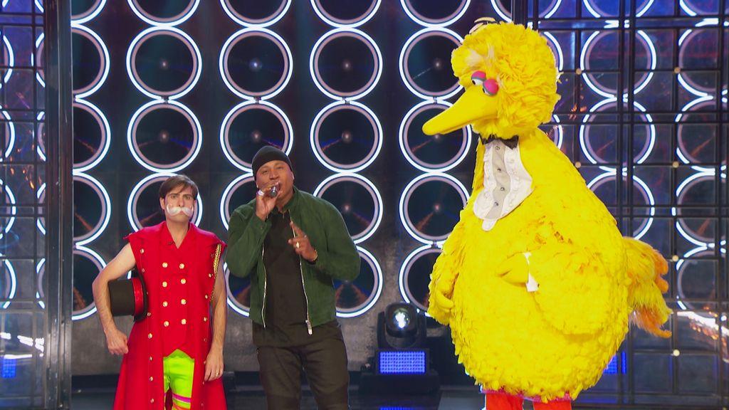 Big Bird vs  Jason Schwartzman